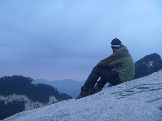 Wolkige Aussichten auf dem Hua Shan