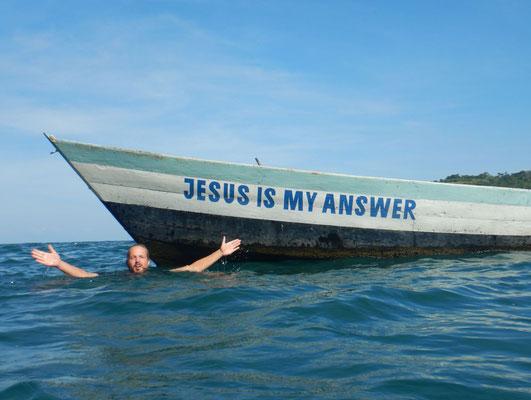 Wenn dir das Wasser mal bis zum Halse steht...