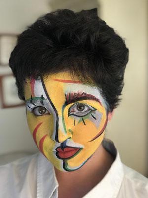 maquillaje fantasía by Stigia fx