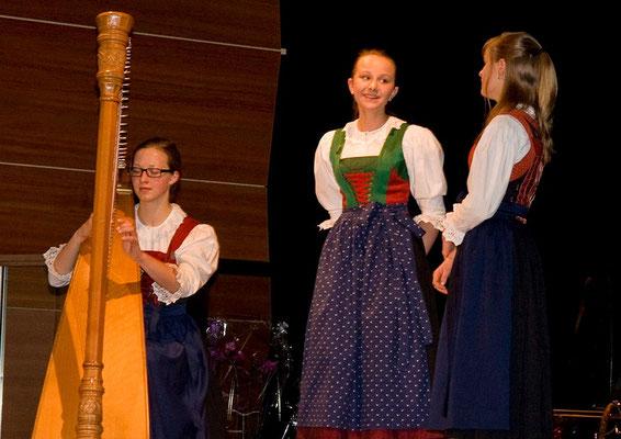 Anna Rainer, Julia Anzengruber und Theresa Wopfner
