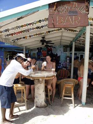 Jost van Dyke, White Bay, Soggy Dollar Bar