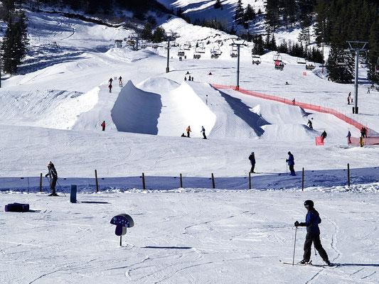 Banff, Skigebiet Norquay, Snowboard-Park