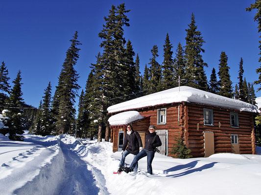Lake Louise, Schneeschuh-Wanderung