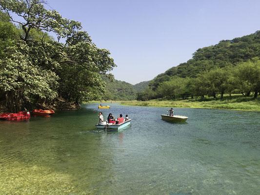 Wadi Darbat, kleiner See