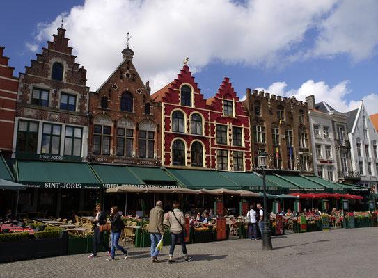 Brügge, Marktplatz