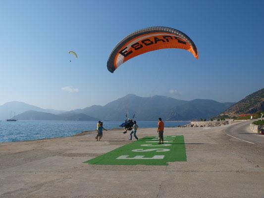 Paraglider-Landeplatz