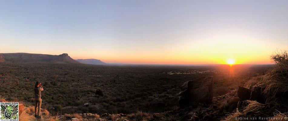 Beautiful panorama in South africa