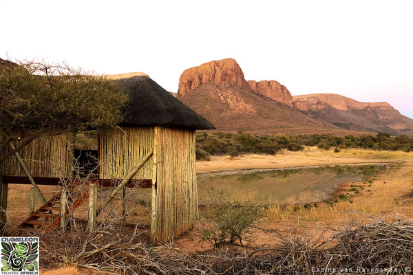 A hide in South Africa