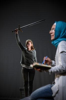 """Kriegerinnen"" am Nationaltheater Mannheim"