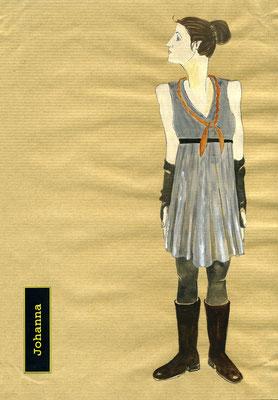 """Figurine """"Die heilige Johanna der Schlachthöfe"""""""
