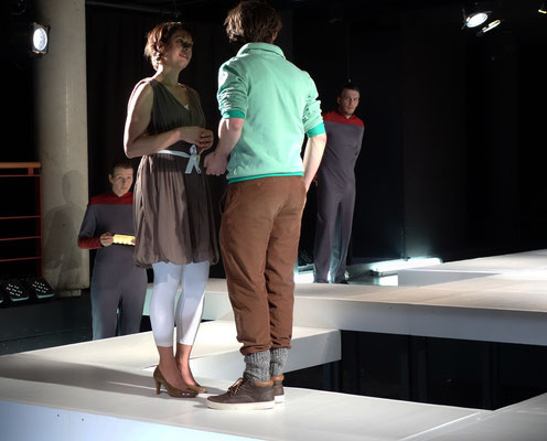 """mensch maschine"" am Theater Lüneburg"