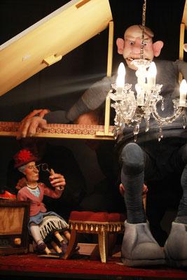 """""""Sophiechen und der Riese"""" am Puppentheater Halle"""