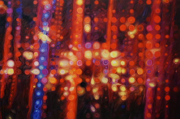 IVO LUCAS  I  Chamber of Reflection   I  Öl auf Leinwand  I  100 x 150 cm