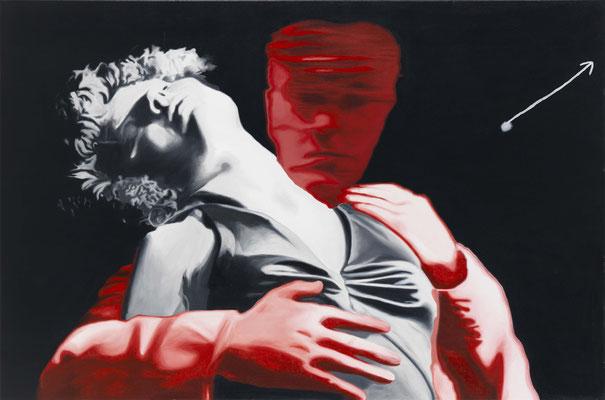 BURKHARD DRIEST  I  cold passion  I  Öl auf Leinwand  I  100 x 150 cm