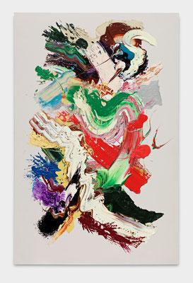 SEBASTIAN HEINER  I  Feuerland  I  200 x 130 cm  I  Oil/Canvas