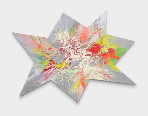 SEBASTIAN HEINER  I  Flash  I  Öl auf Leinwand  I  110 x 160 cm