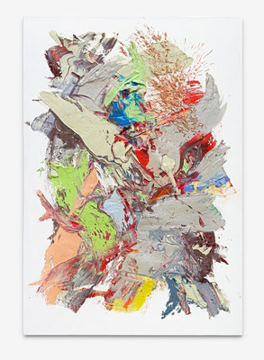 SEBASTIAN HEINER  I  Stone Garden  I  160 x 110 cm  I  Oil/Canvas