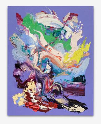 SEBASTIAN HEINER  I  Sidney Blues I 180 x 140 cm I Oil/Canvas