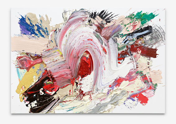 SEBASTIAN HEINER  I Wave  I  90 x130 cm  I  Oil/Canvas