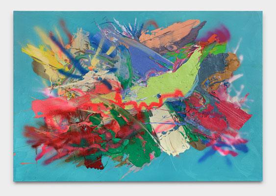 SEBASTIAN HEINER  I  Dao Ma Dan  I  110 x 160 cm  I  Oil/Cannvas
