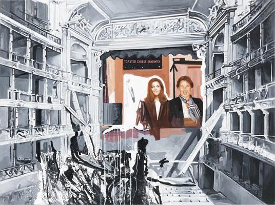 BURKHARD DRIEST  I  Grand opera  I  Öl auf Leinwand  I  120 x 160 cm