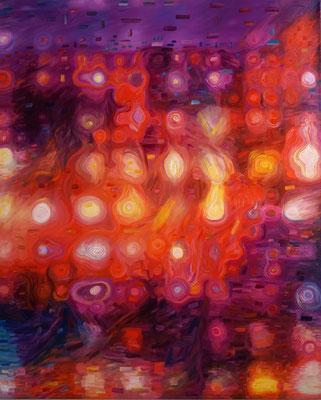 IVO LUCAS  I  Abstract Impressionism  I  Öl, Acryl, Pigmente, Lack auf Leinwand  I  160 x 130 cm