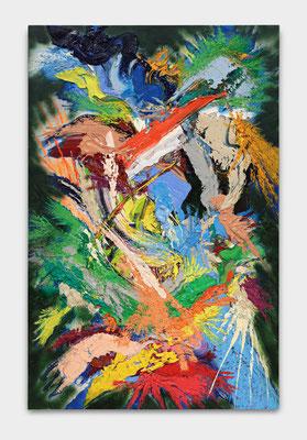 SEBASTIAN HEINER  I  Hidden Garden  I  200 x 130 cm  I  Oil/Canvas