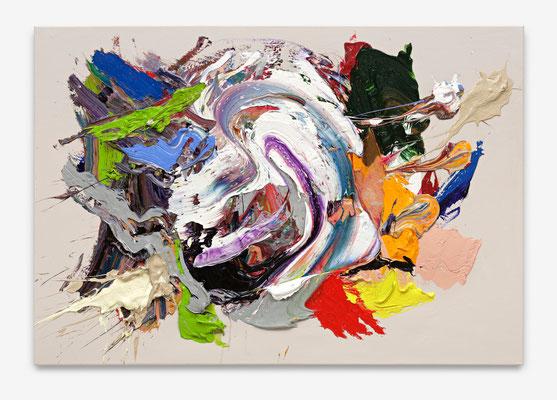 SEBASTIAN HEINER  I  Rush  I  90 x 130 cm  I  Oil/Canvas