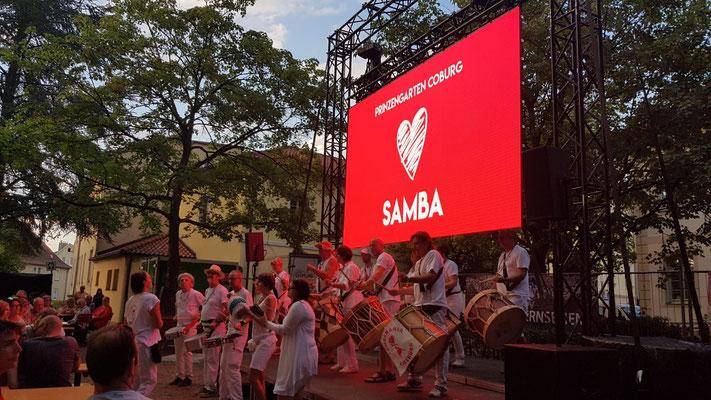 Sambamania Sambafestival Coburg