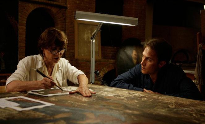 """Norma Martelli e Francesco Tripodi in """"La sera della prima"""" di Loretta Cavallaro"""