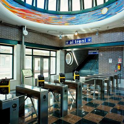 Stazione di Traiano (Arch. Nicola Pagliara)