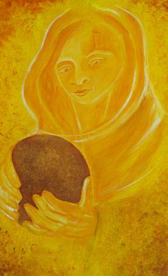 Mutter Gaia // 61 x 41,7cm gerahmt//  656,00€
