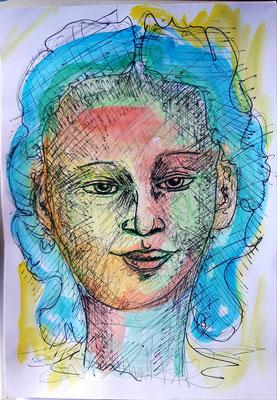 11 Faces DinA3
