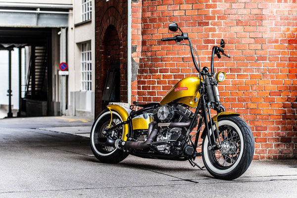 Harley Davidson meets Brauerei Schützengarten