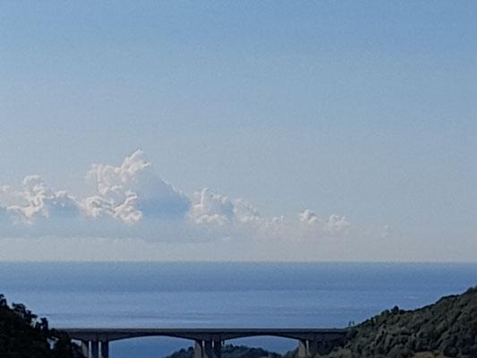 Ligurisches Meer bei Genua