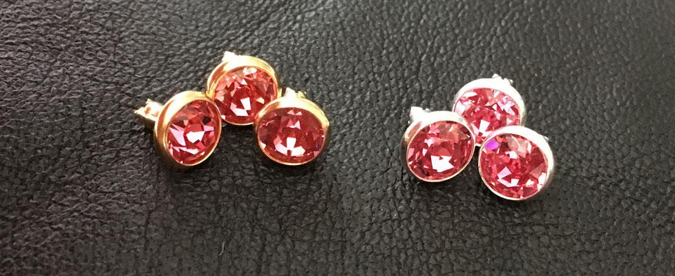 Rosé Gold, Rosé silber