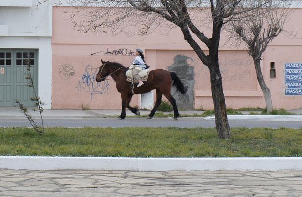 Même les enfants montent à cheval !