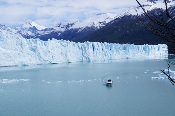 Croisière possible au pied du glacier !