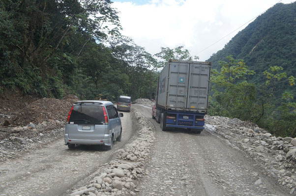 Route bolivienne ....