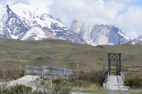 Las Torres del Paine (les pics qui donnent le nom au parc)