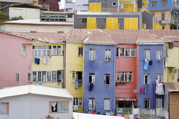 Maisons colorées !