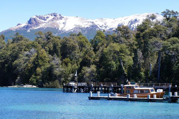 Le Lac Nahuel Huapi (depuis Villa la Angostura) ...