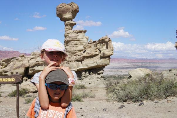 Des formations rocheuse étranges !