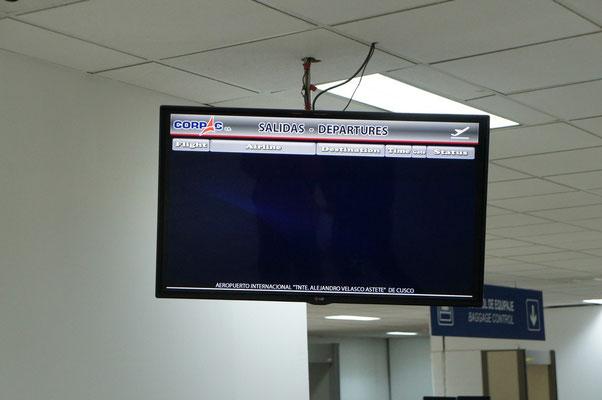 Avez vous déjà vu un panneau d'affichage vide ?