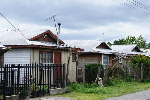 Les maisons au Chili