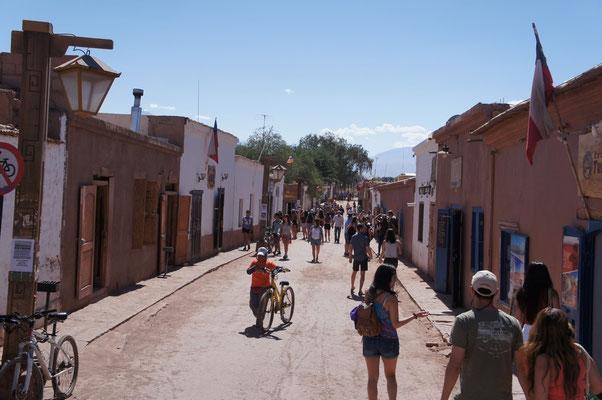 Les rues de San Pedro de Atacama