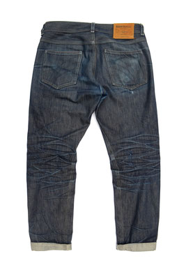 """""""Bluelegs"""" 210 days of wear, 0 washes"""
