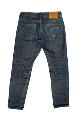 """""""Bluelegs"""" 150 days of wear, 0 washes"""