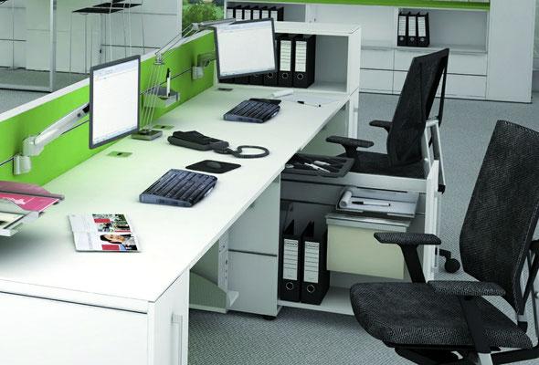 Modulares Büro