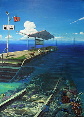 2012 和海駅での休日